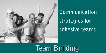Teambuilding - Communication Strategies for Cohesive Teams